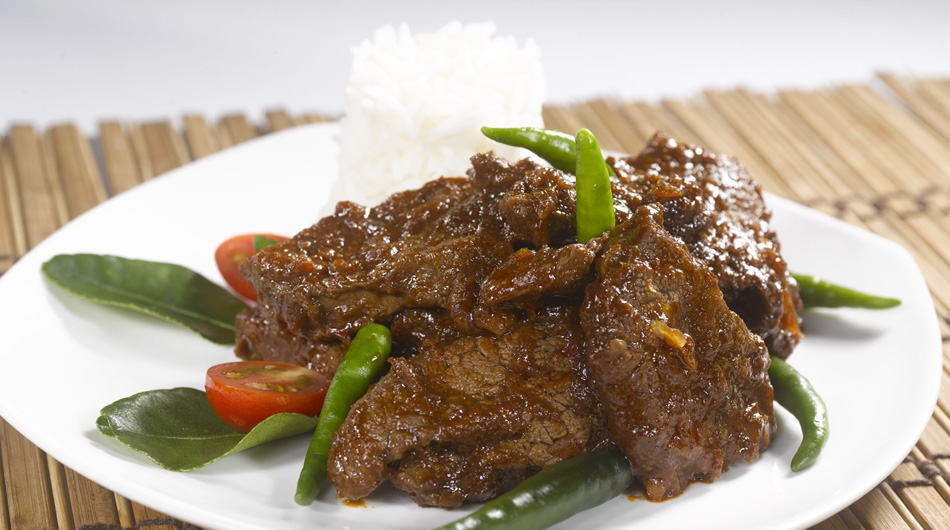 EXTRA SPICY BEEF IN BLACK SAUCE